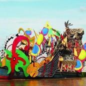 festival pasar terapung banjarmasin kalimantan selatan